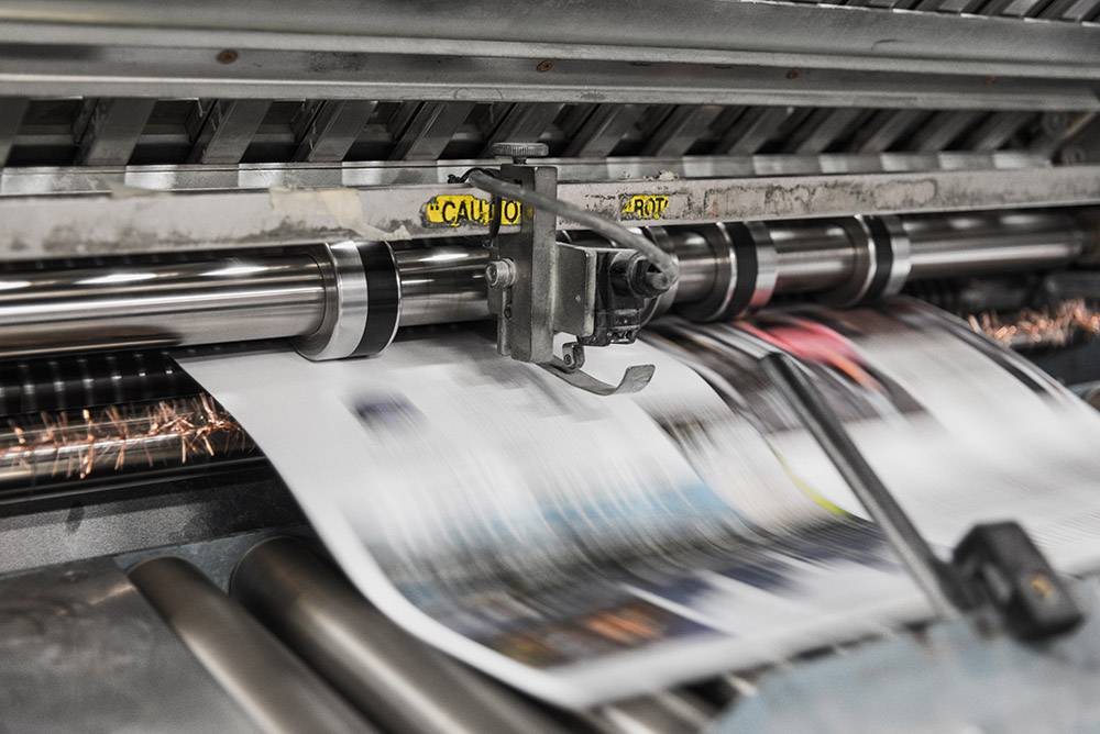 Litho Press Printing